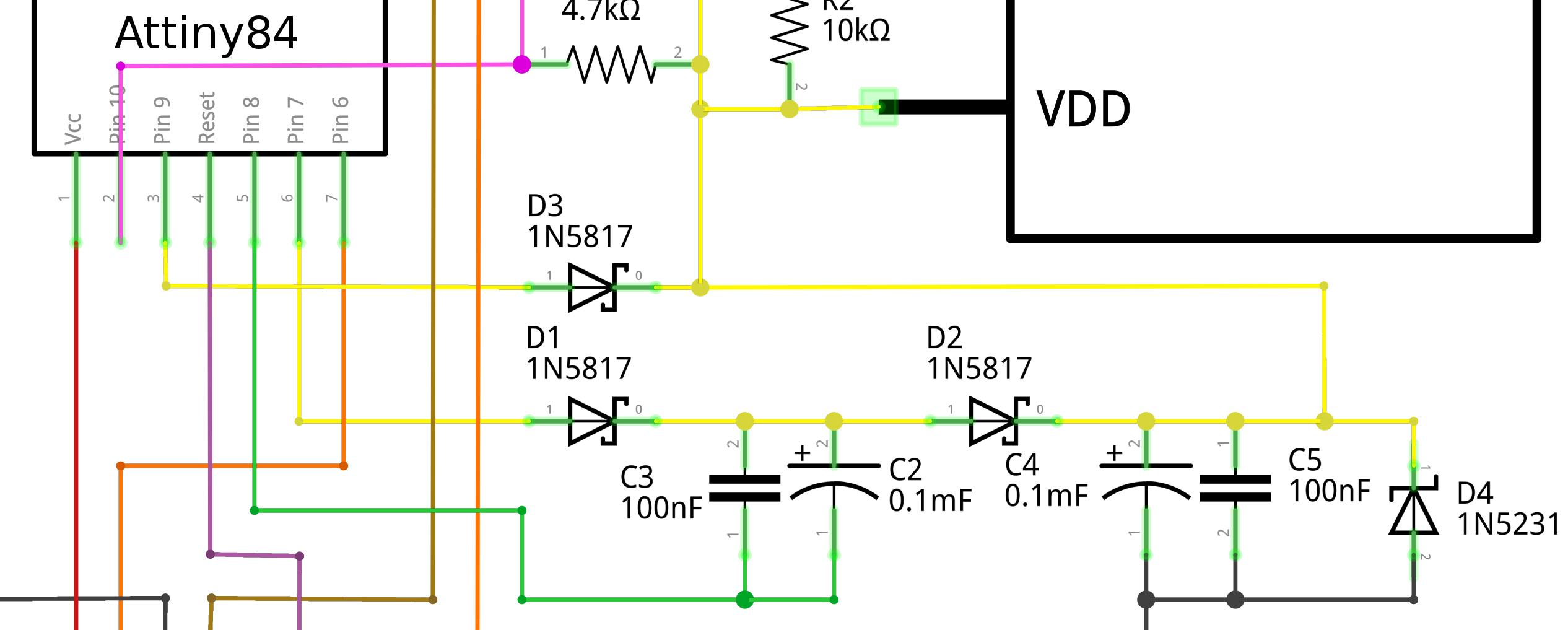 My Diy Wireless Solar Powered Temperature Sensor Network High Detector Circuit Diagram Dickson Voltage Doubler